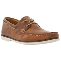 Bertie Battleship Leather Boat Shoes
