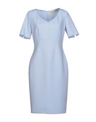 Thomas Rath Short Dresses Sky Blue