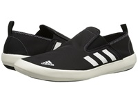 Adidas Outdoor Boat Slip On Dlx Core Black Chalk White Vista Grey Men's Shoes