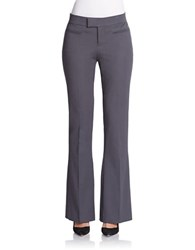 424 Fifth Stretch Flare Leg Pants Iron