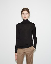 Jil Sander Turtleneck Sweater Black