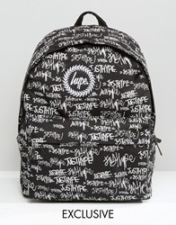Hype Exclusive Handstyle Backpack Black