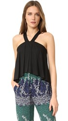 Yigal Azrouel Cold Shoulder Top Jet