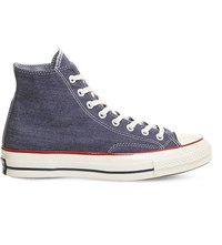 Converse All Star 70S High Top Canvas Trainers Insignia Blue Egret