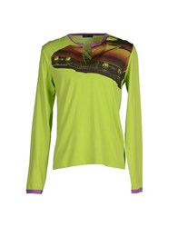 Mas_Q Topwear T Shirts Men Acid Green
