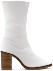 Kitx 'The Keeper' Ankle Boots White
