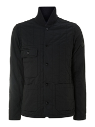 Paul Smith Quilted Jacket Navy