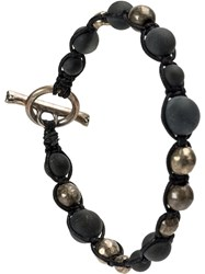 Tobias Wistisen Beaded Bracelet Black