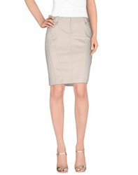 Massimo Rebecchi Skirts Knee Length Skirts Women Light Grey