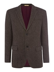 Howick Men's Cedar Wool Blazer Grey