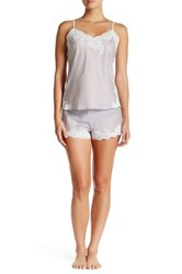 Natori Cami Pj Set Gray