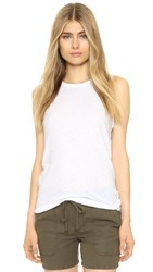 James Perse Tomboy Tank White