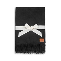 Ugg Glacier Throw Black