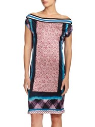 Jean Paul Gaultier Mixed Media Coverup Dress Multi