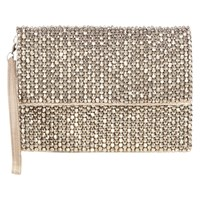 Coast Felicia Clutch Bag Silver