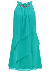 Coast Cocktail Dress Party Dress Green Turquoise