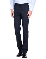 Fabio Di Nicola Trousers Casual Trousers Men Dark Blue