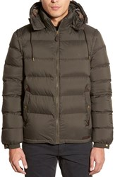 Men's Burberry Brit 'Basford' 2 In 1 Trim Fit Waterproof Down Insulated Puffer Jacket With Removable Sleeves