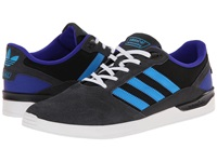 Adidas Skateboarding Zx Vulc Solid Grey Solar Blue Night Flash Men's Skate Shoes Black