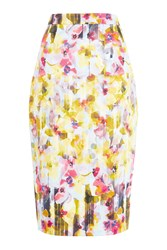 Damsel In A Dress Shadow Floral Skirt Multi Coloured