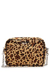 Zadig And Voltaire Pony Hair Shoulder Bag Animal Prints