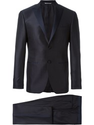 Canali 'Aya' Two Piece Suit Blue