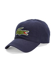 Lacoste Embroidered Signature Cap Navy