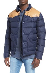 Penfield Men's 'Pelam' Quilted Western Jacket Navy
