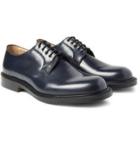 Church's Shannon Whole Cut Polished Leather Derby Shoes Storm Blue