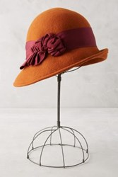 Anthropologie Melodies Cloche Red