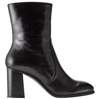 Jigsaw Aysha Block Heeled Ankle Boots Black