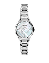 Burberry Bu10110 Small Classic Stainless Steel Bracelet Watch Silver