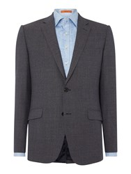 Simon Carter Sb2 Puppytooth Slim Fit Jacket Grey