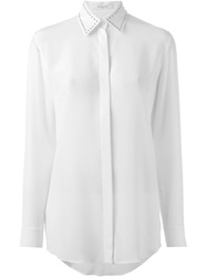 Givenchy Studded Collar Shirt White