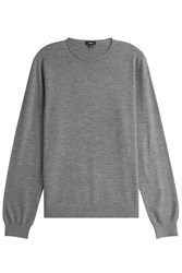 Vince Wool Pullover With Cashmere Grey