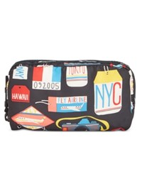 Le Sport Sac Lesportsac Global Cosmetic Pouch Boarding Pass
