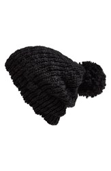 Women's Phase 3 Slouchy Beanie With Pom