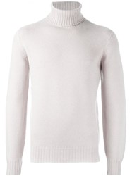 Brunello Cucinelli Roll Neck Jumper Nude Neutrals