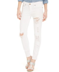 Tommy Hilfiger Ripped White Ankle Jeans Willa