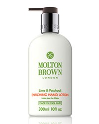 Lime And Patchouli Hand Lotion 10 Oz. Molton Brown
