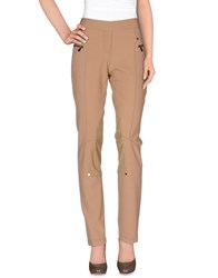 Vdp Club Trousers Casual Trousers Women Camel