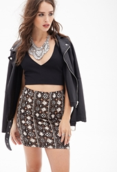 Forever 21 Tribal Print Skirt