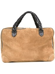 Golden Goose Deluxe Brand 'Equipage' Tote Nude And Neutrals