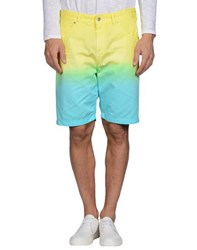 Love Moschino Trousers Bermuda Shorts Men Yellow