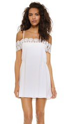 Suboo Stevie Mini Beach Dress Ivory