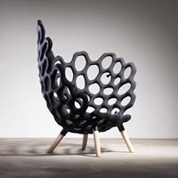 Textile Moulded Chair Par Le Studio Hausen Blog Esprit Design Tendance Design Deco