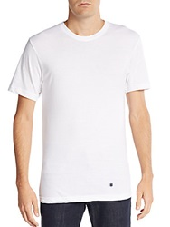 Lucky Brand Cotton Crewneck Tee 3 Pack White