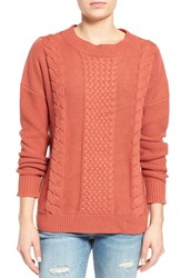 Women's Rhythm 'Fleetwood' Cable Knit Sweater