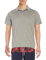 Trunks Surf Swim Textured Polo Frost Grey