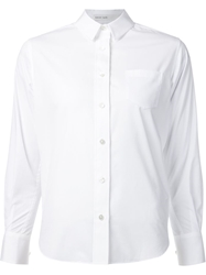 Sacai Luck Pleated Back Blouse White